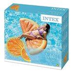 Intex 58763EU Lounge Orange Slice, 178 x 85 cm